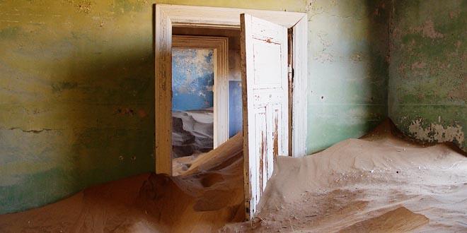 lugares abandonados más bonitos, Kolmanskop