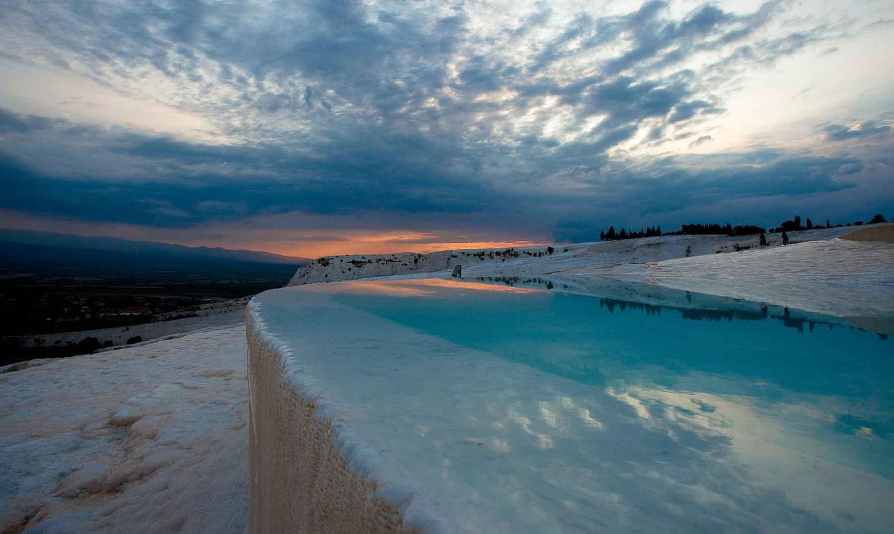 Pamukkale, el paraíso blanco de Turquía