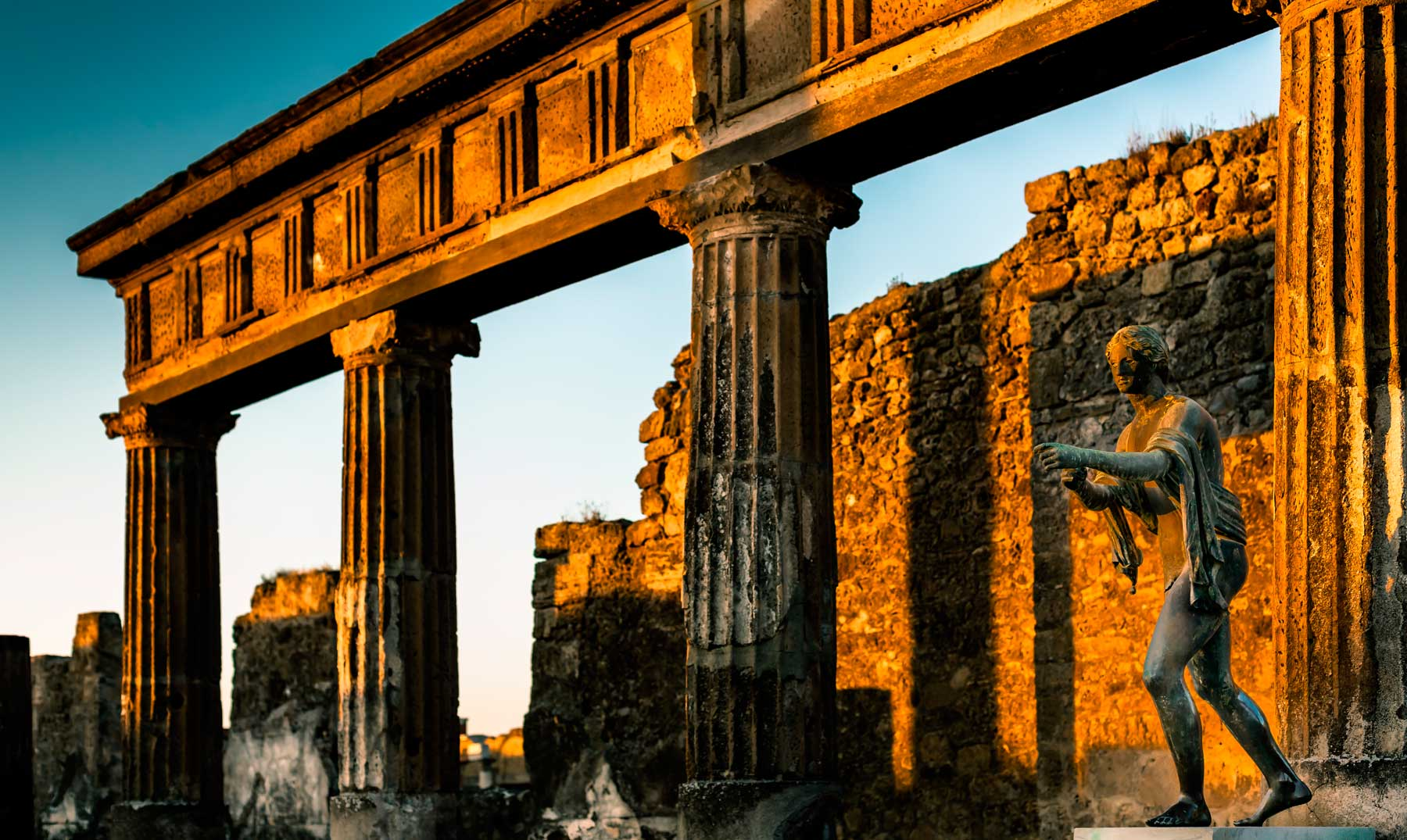 Pompeya, la ciudad que duerme bajo las cenizas