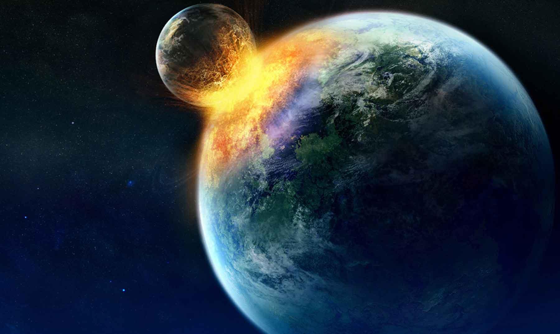 ¿Se formó la luna por el impacto de Theia