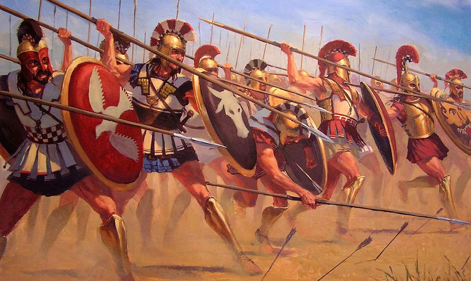 Grandes batallas de la historia: Batalla de Maratón