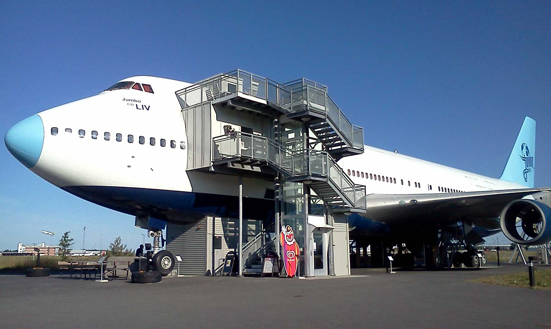 Hotel avion Jumbo Stay