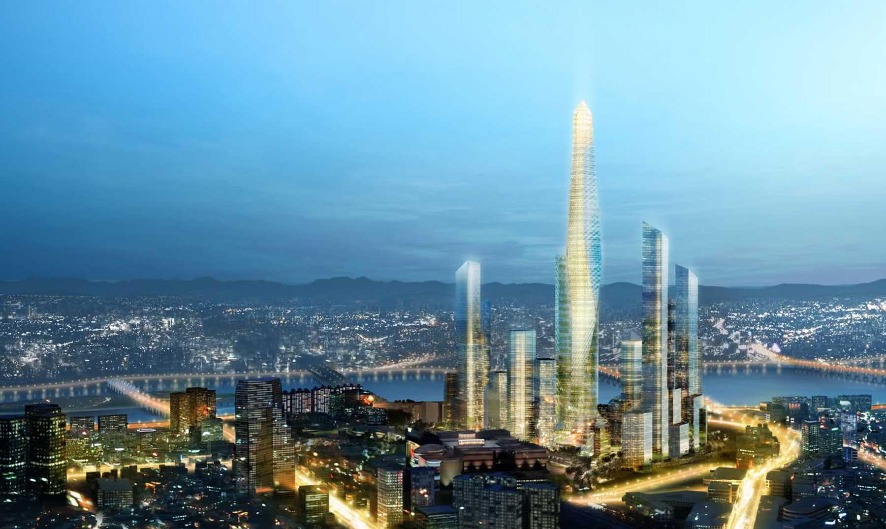 La gran torre invisible de Corea del Sur