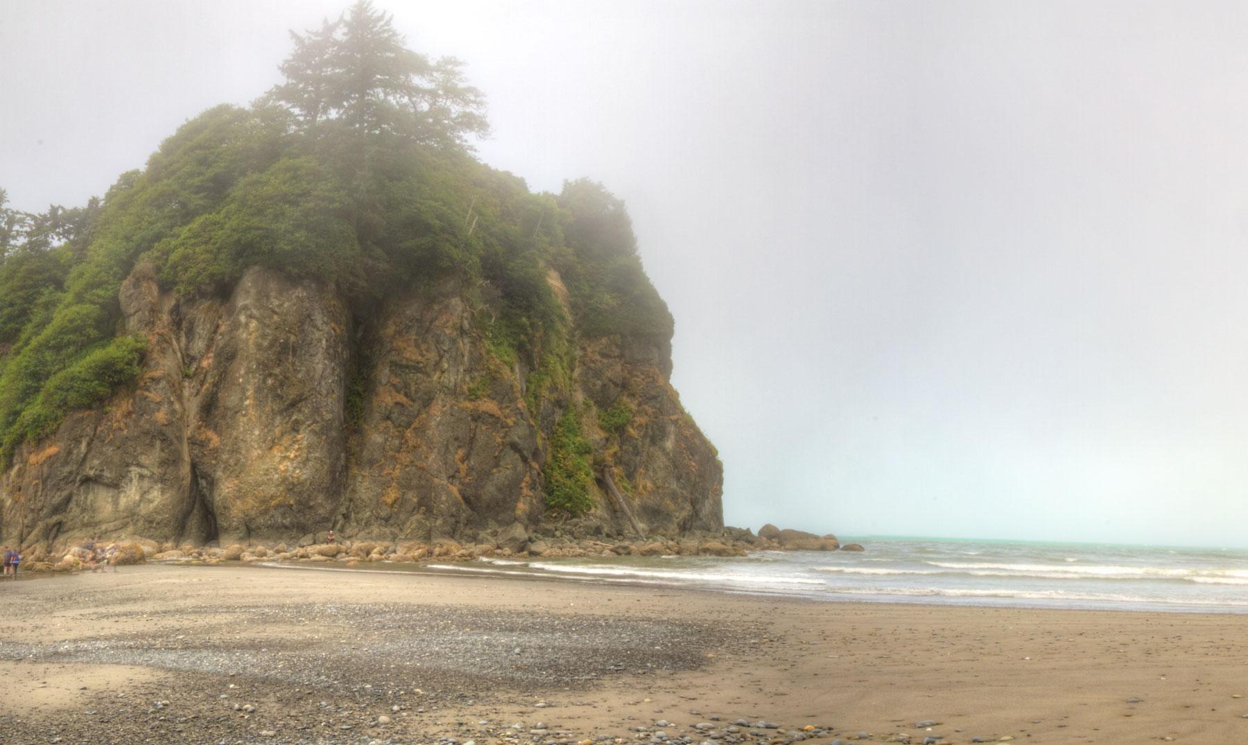 Lugares increíbles: Ruby Beach, encuentro entre el mar y el bosque