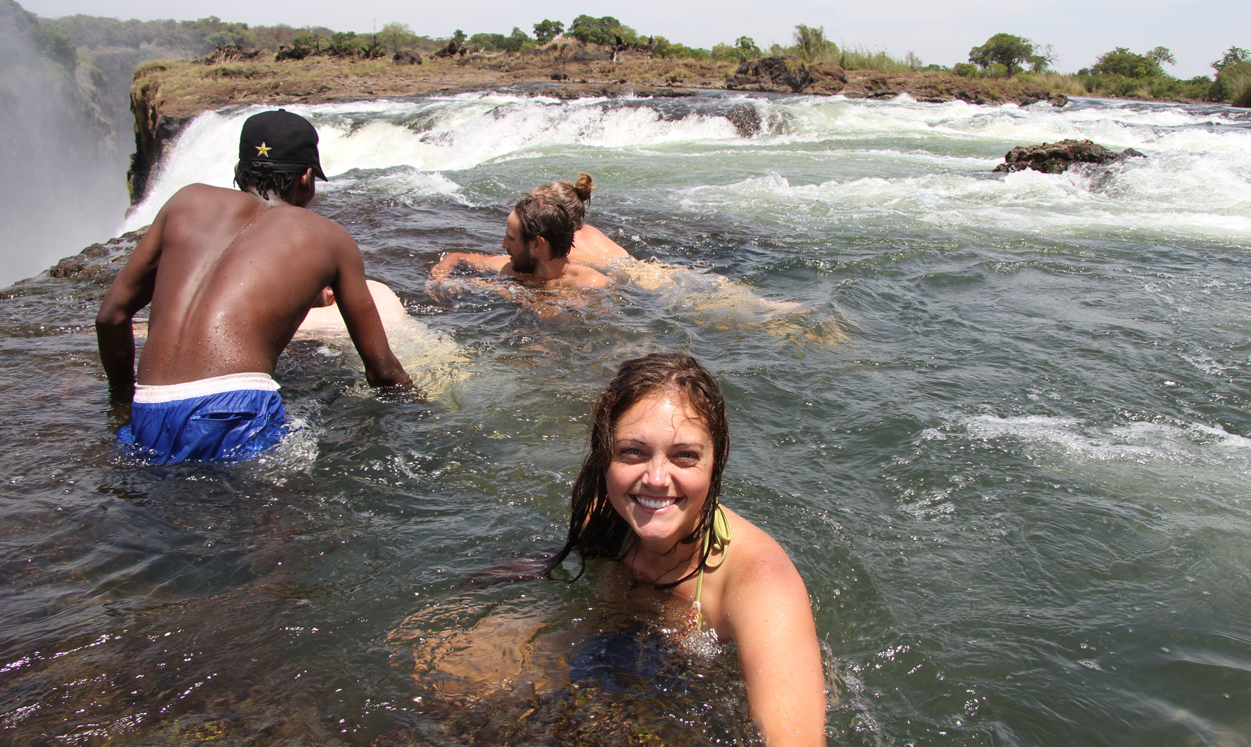 """Devil´s Pool"", la piscina del diablo de África"