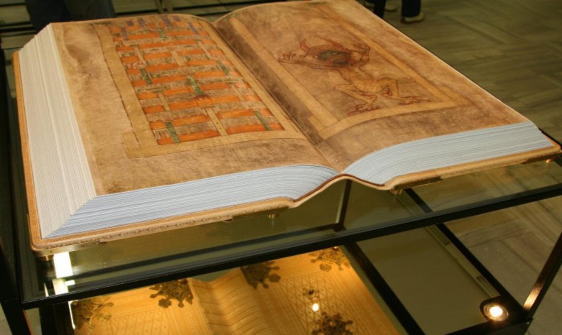 Codex Gigas: la supuesta Biblia del Diablo