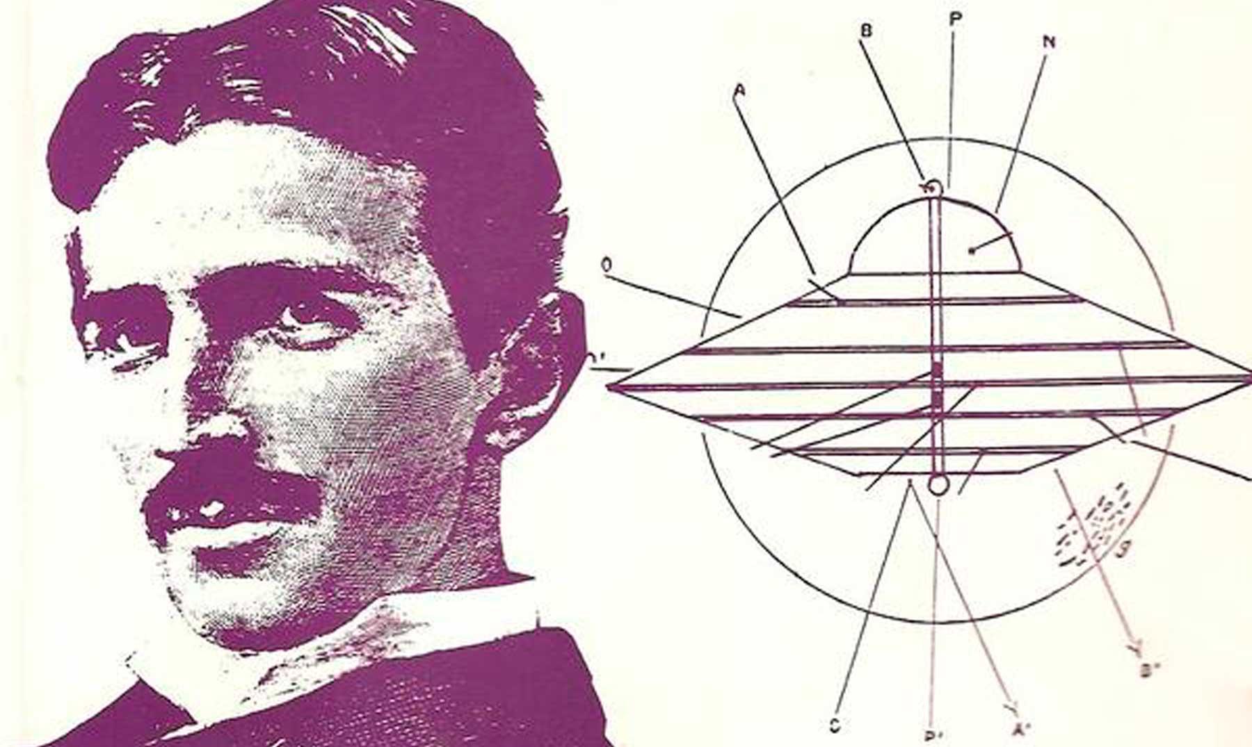 El fantástico Ovni de Nicola Tesla
