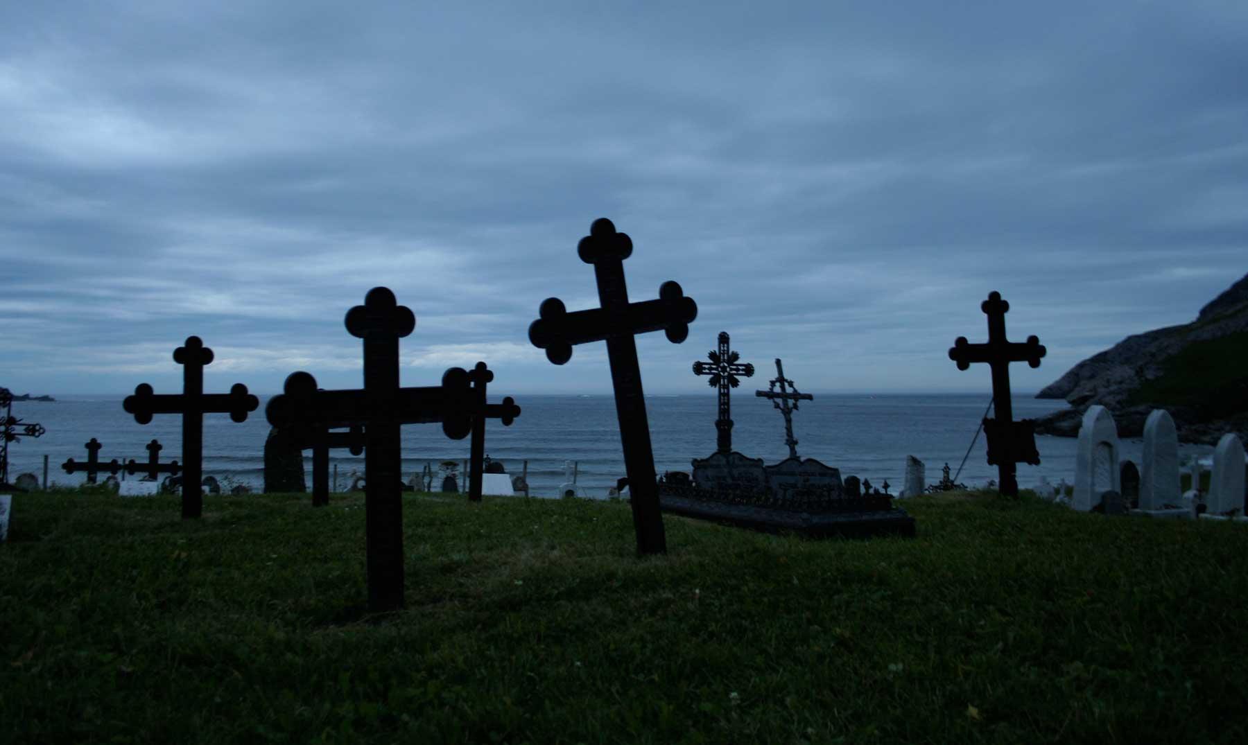 El niño que murió de miedo en un cementerio