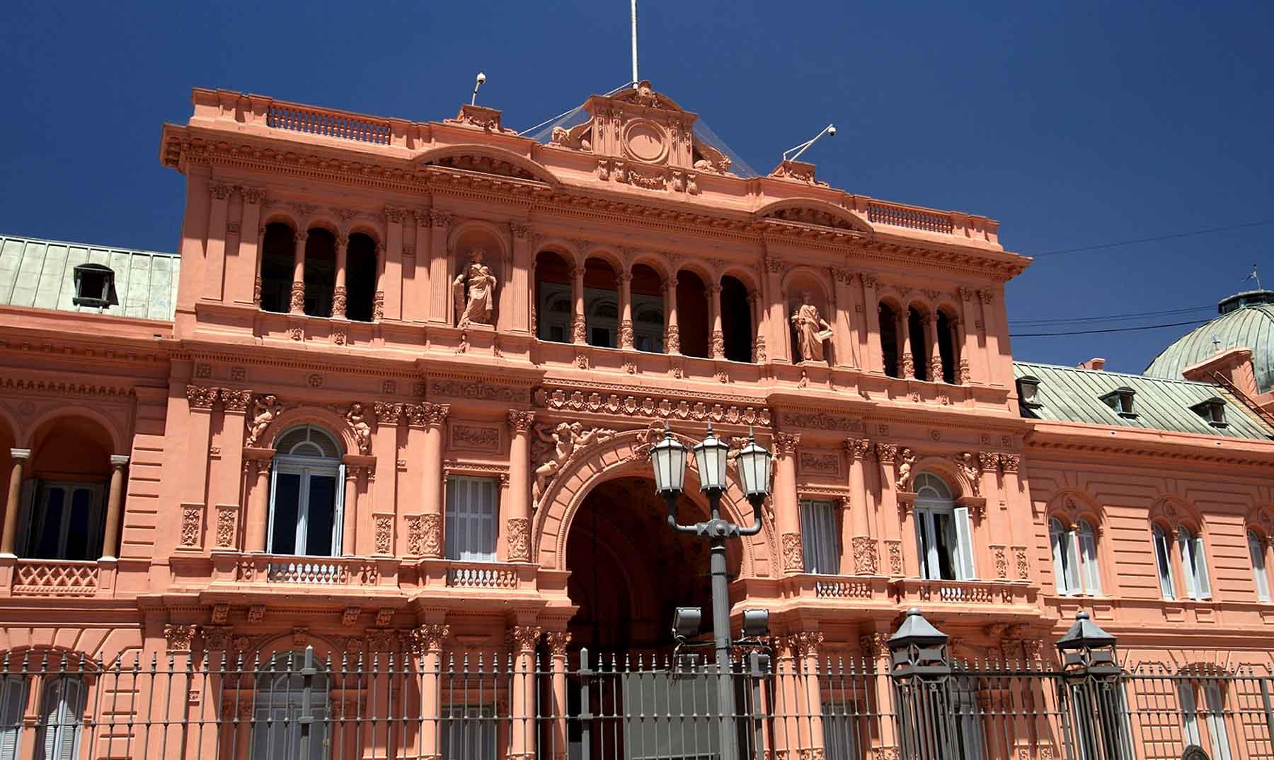Por qu la casa rosada de argentina es rosada for Casa argentina