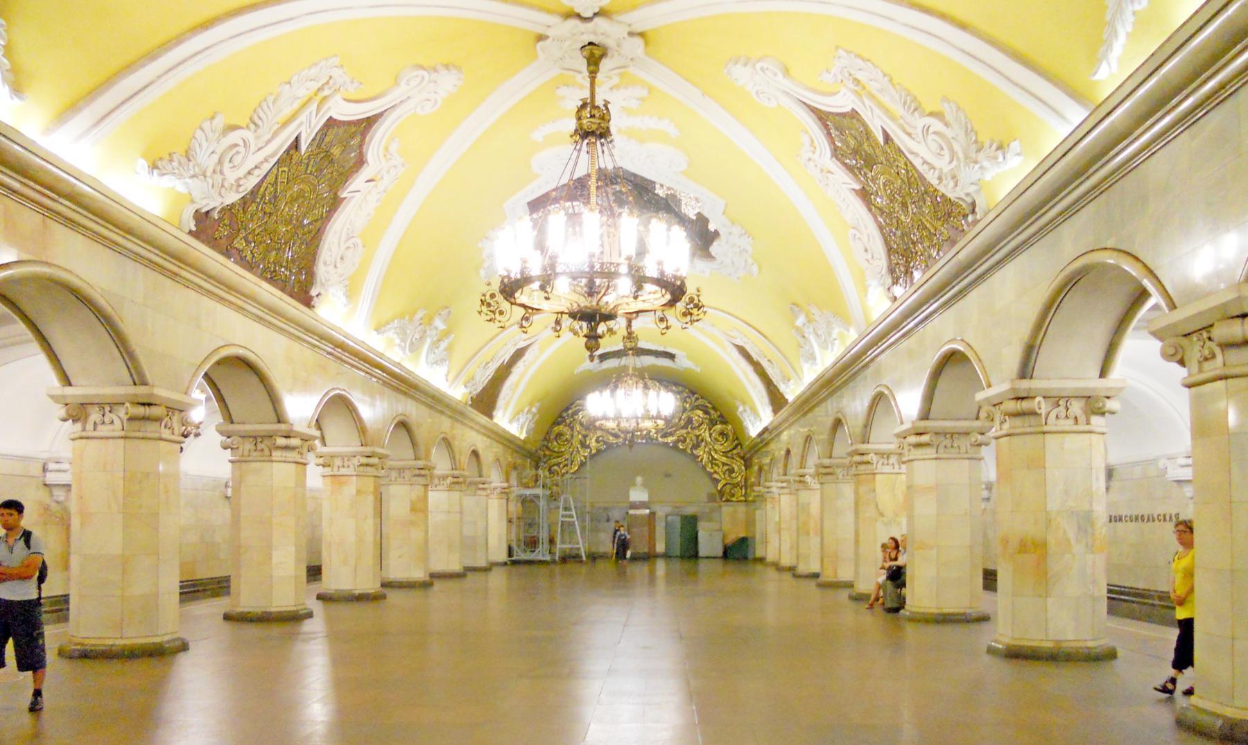 El palacio subterráneo: el metro de Moscú