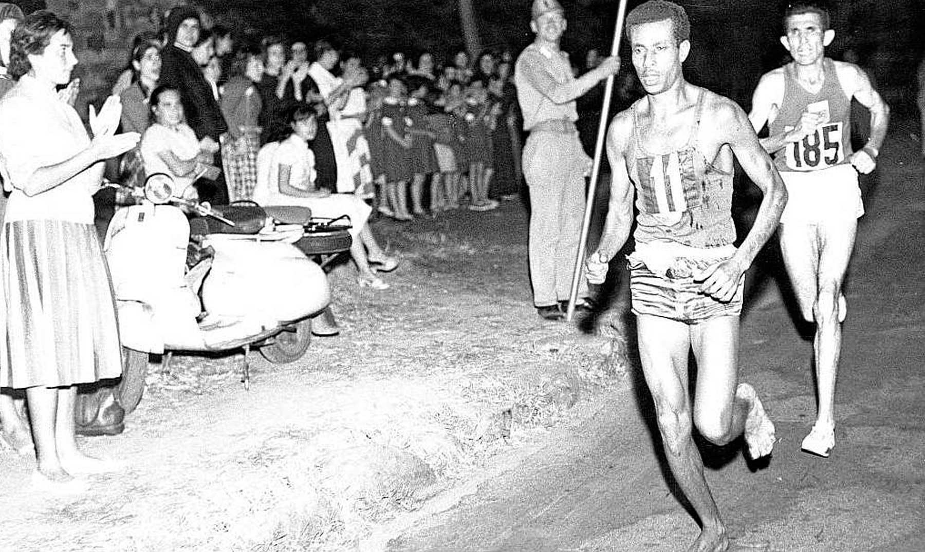 Abebe Bikila, el etíope que ganó una maratón descalzo