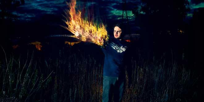 Hombre Combustión Espontánea