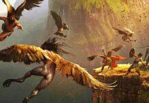 Las arpías en la mitología griega