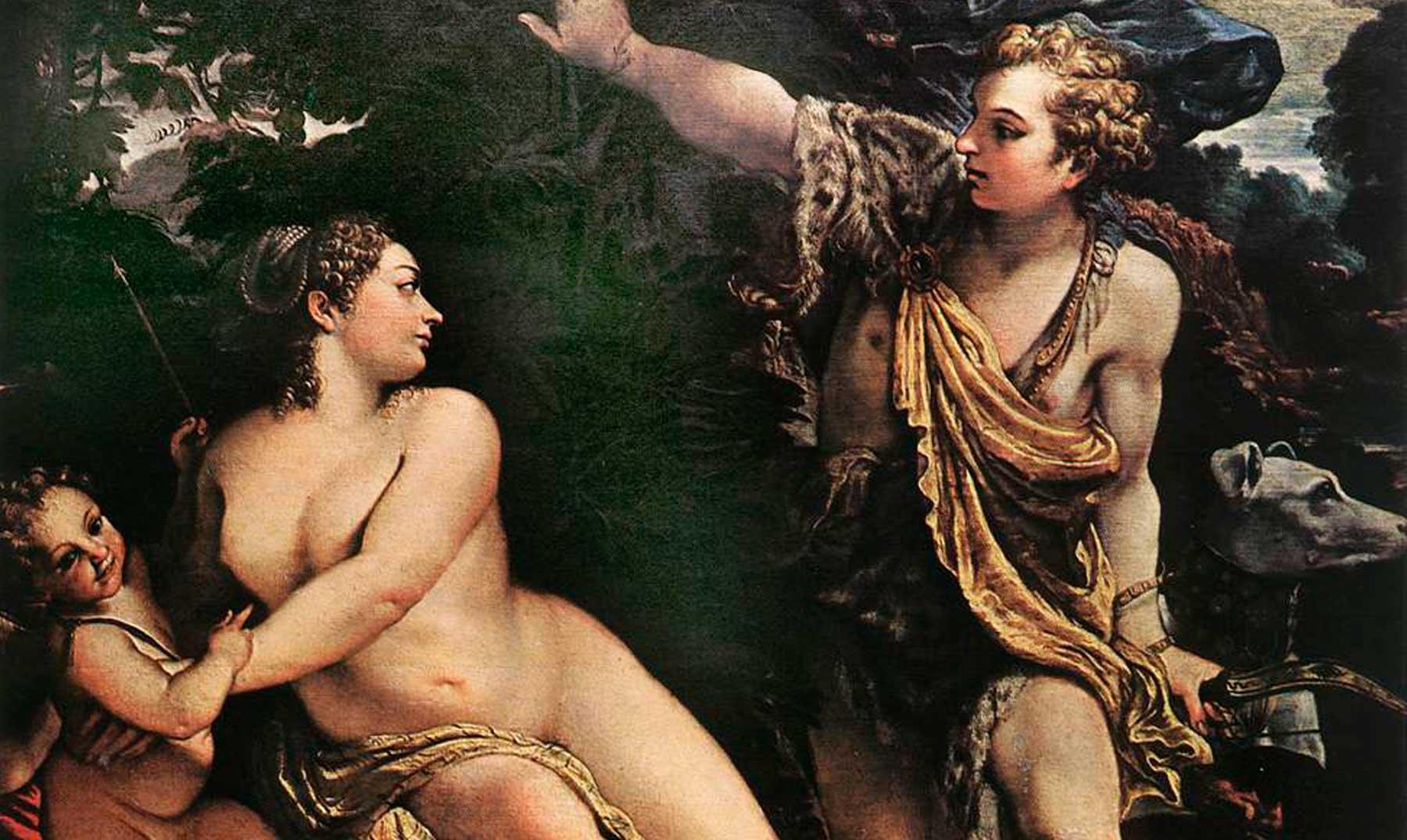 El amor que desafió a los dioses Afrodita y Adonis