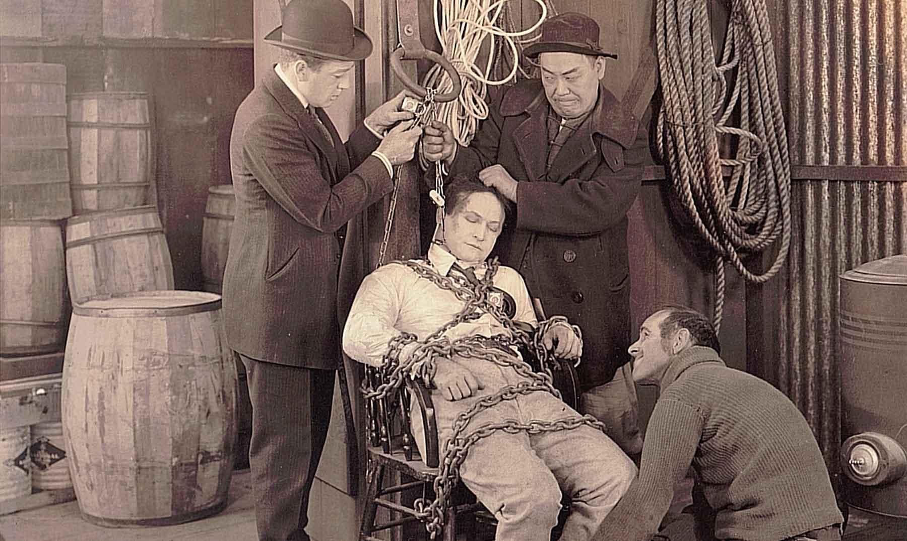 La muerte desprevenida del mago Houdini