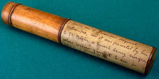 René Laennec estetoscopio inventor del estetoscopio