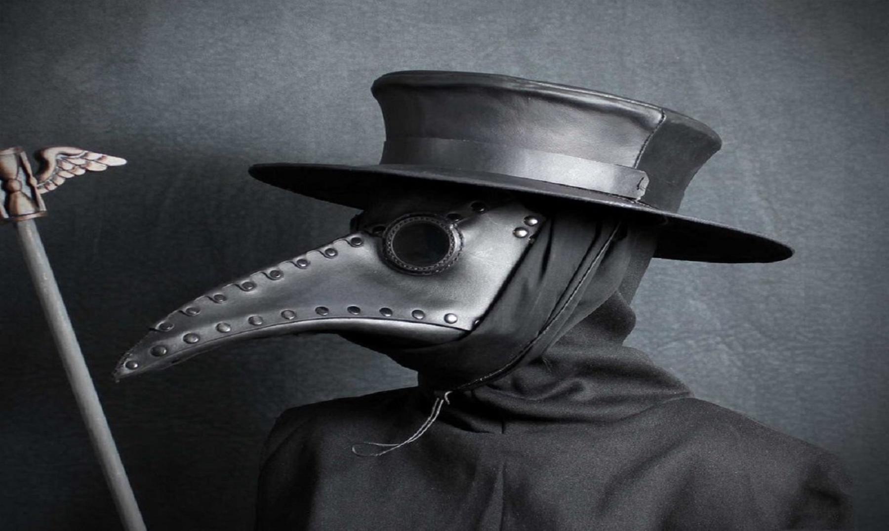 Las aterradoras máscaras de la Peste Negra