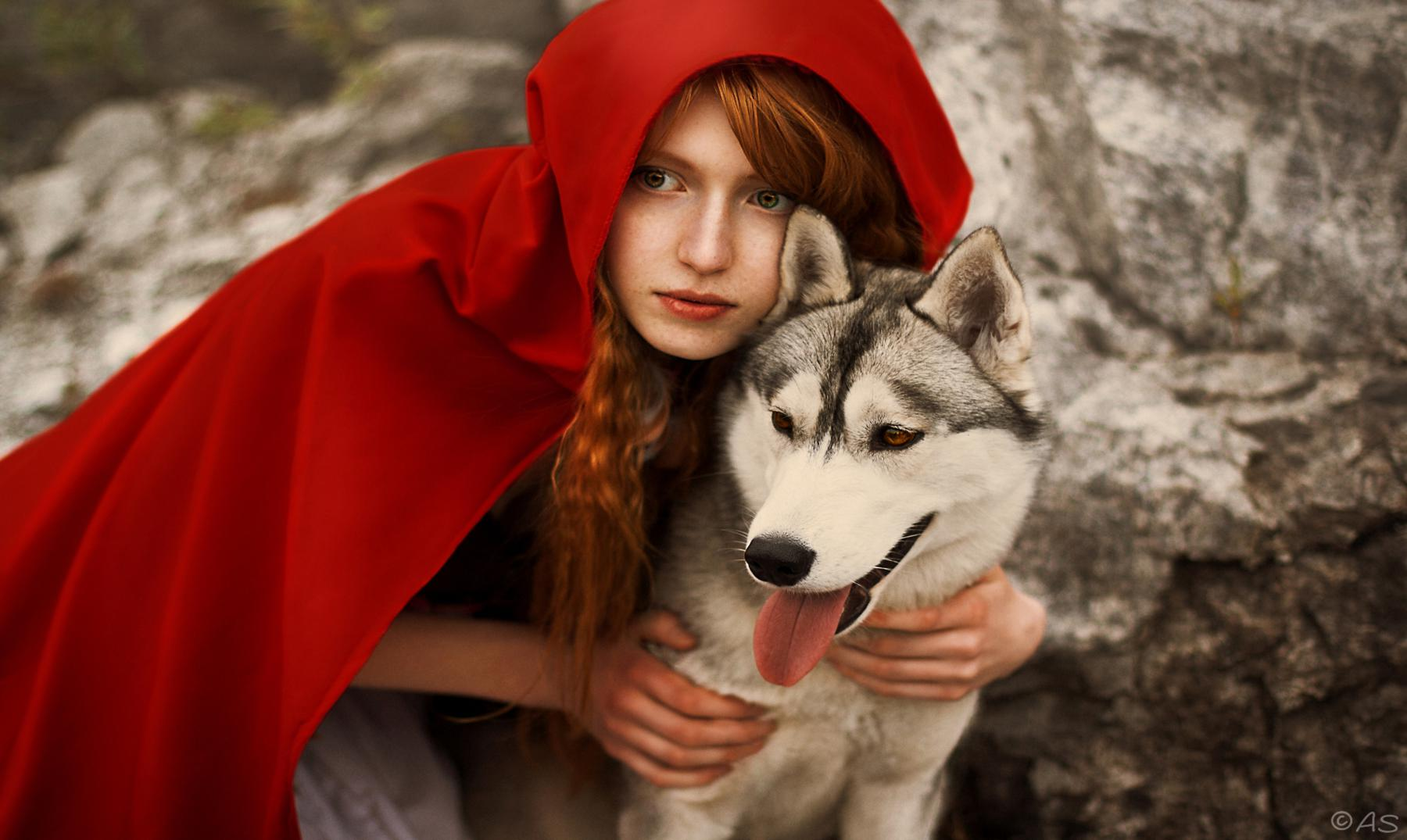 Little red riding hood nude pic 21