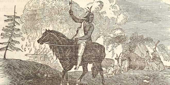 Un guerrero indio