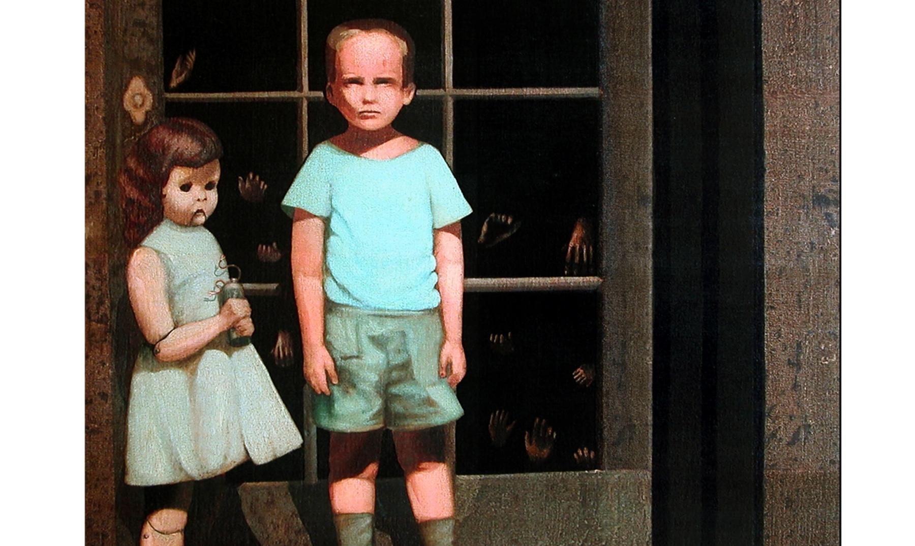 """The Hands Resist Him"", la pintura embrujada de eBay"