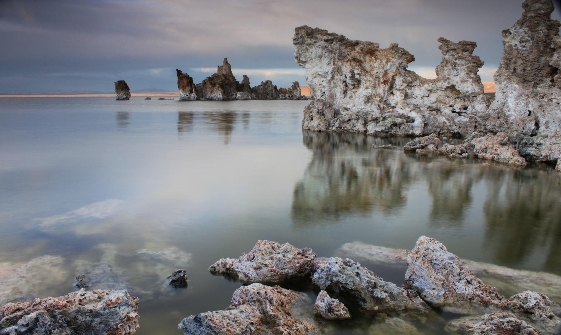 """El fantástico """"Lago Mono"""" de California"""