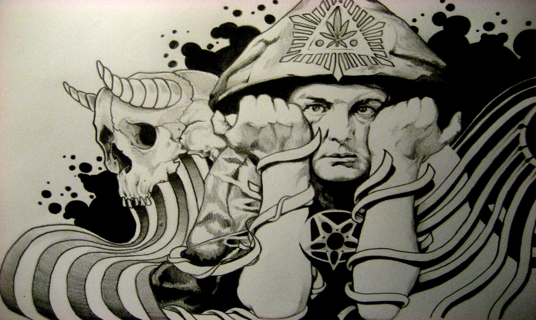 """Aleister Crowley, la Gran Bestia o el último """"mago negro"""""""