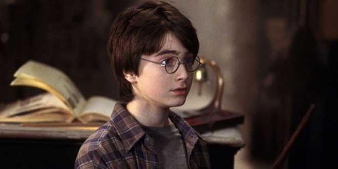 """Detalle de un clip de la película """"Harry Potter y la piedra filosofal"""" dirigida por Chris Columbus (2001)"""