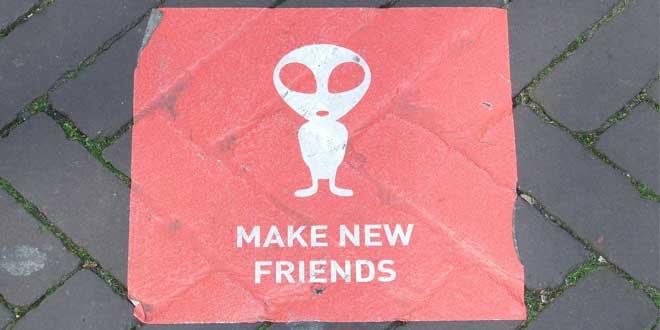 Haz nuevos amigos