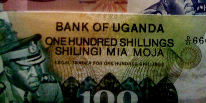 Billetes de la dictadura Idi Amin Dada