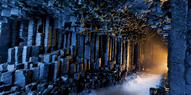 La-cueva-de-Fingal,-Escocia-
