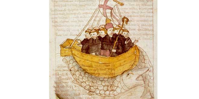 Jasconius de San Brandán, Manuscrito germánico de autor desconocido.