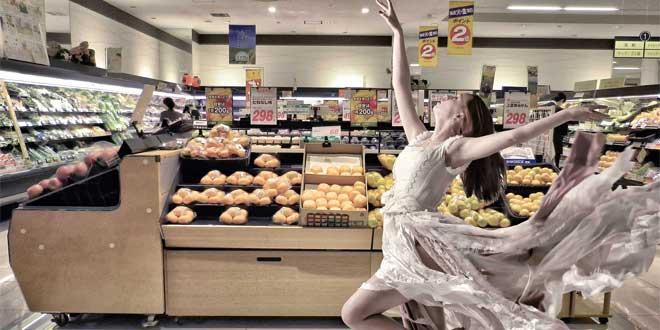 ¡Qué bonito es todo lo del supermercado!