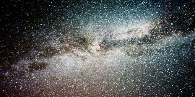 Via Láctea fotografiada desde Reino Unido