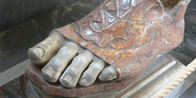 Sandalia de la Antigüedad