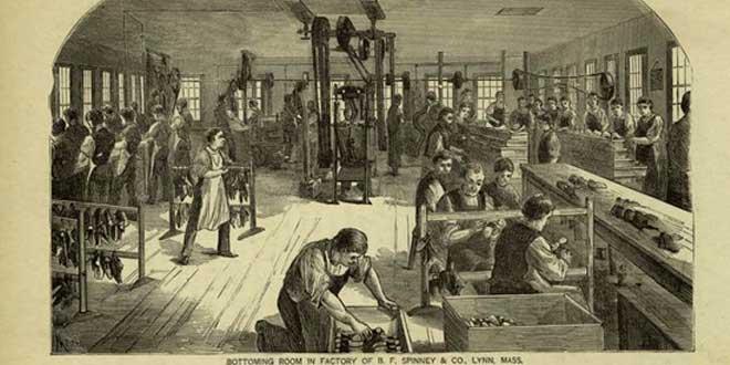 Industria zapatera, finales del siglo XIX