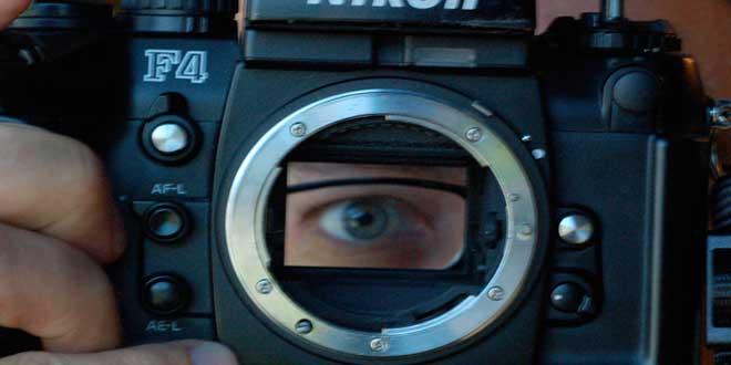 cámara ojo
