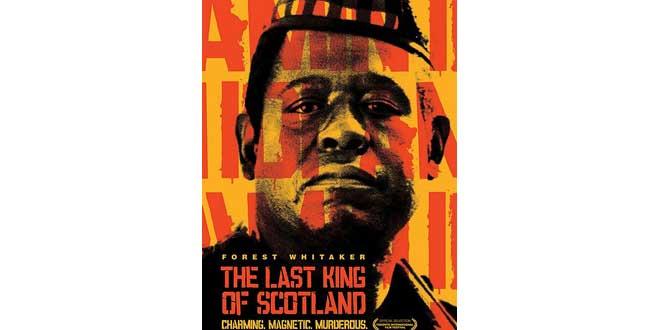 "Póster promocional de la película ""El último rey de Escocia"" (2006), Kevin MacDonald"