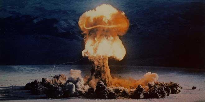Test Nuclear en Nevada, 1957