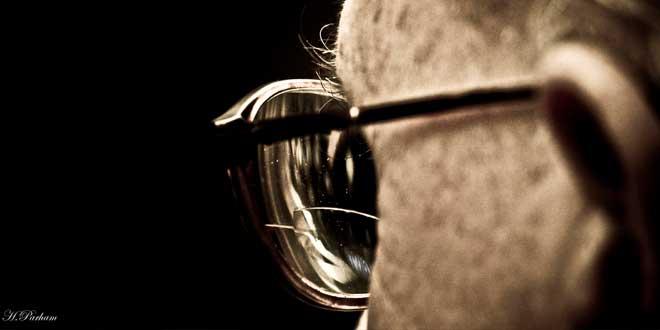 Gafas y vejez