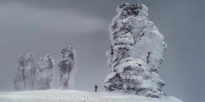 Rocas gigantes de los Urales (Man Pupu Nyor)