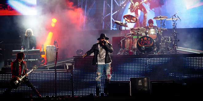 Guns 'N' Roses, Main Stage @ExitFestival 2012