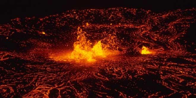 Volcan Kilauea, Hawaii, Parque Nacional. 1972-1974
