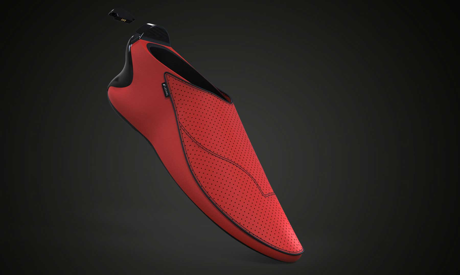 Los zapatos mágicos e inteligentes que te guían