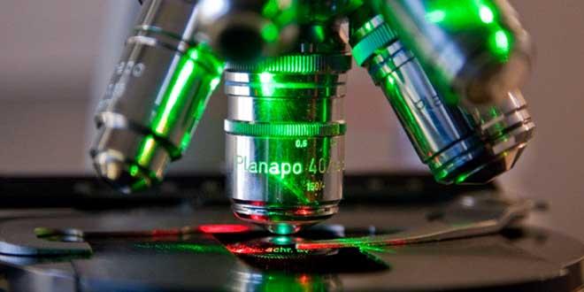 Microscopio científico