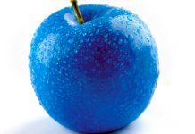 ¿Por qué no hay alimentos azules?