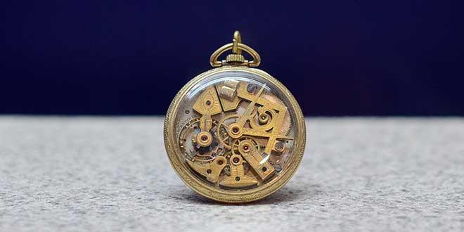 Reloj de bolsillo masón