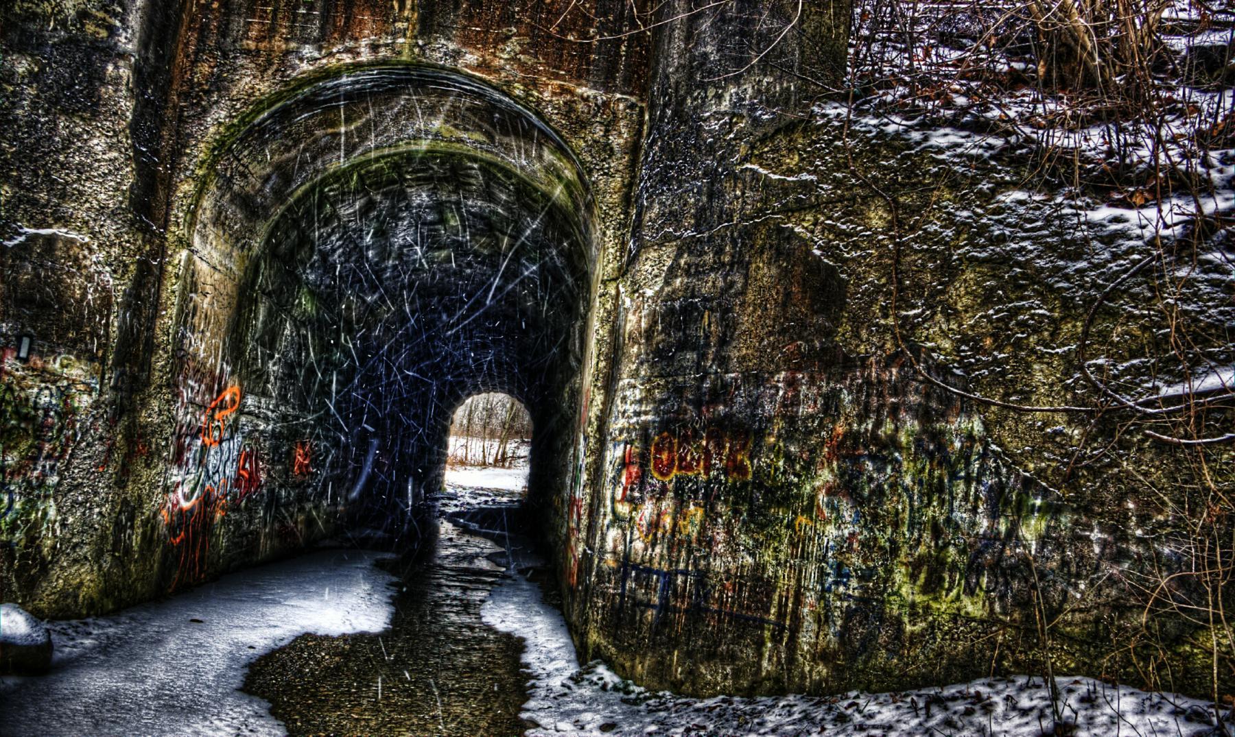 La leyenda del túnel de los gritos