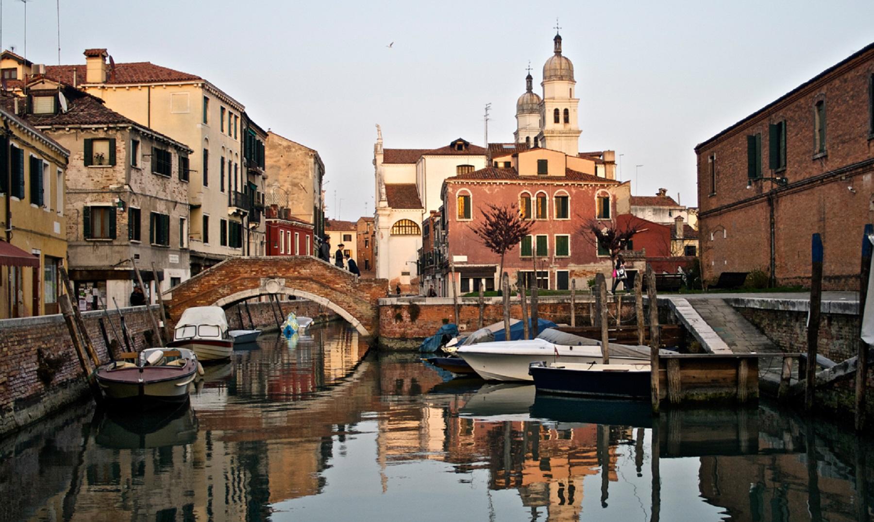 ¿Por qué hay tanta agua en la ciudad de Venecia?