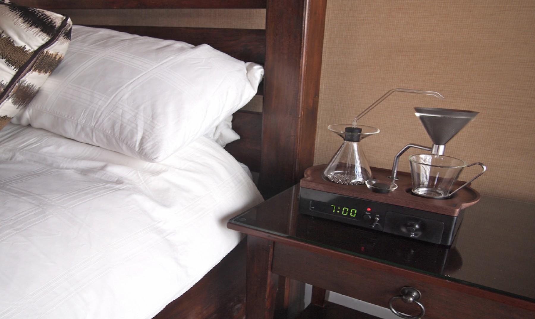 Fuera alarmas: despiértate con aroma de café