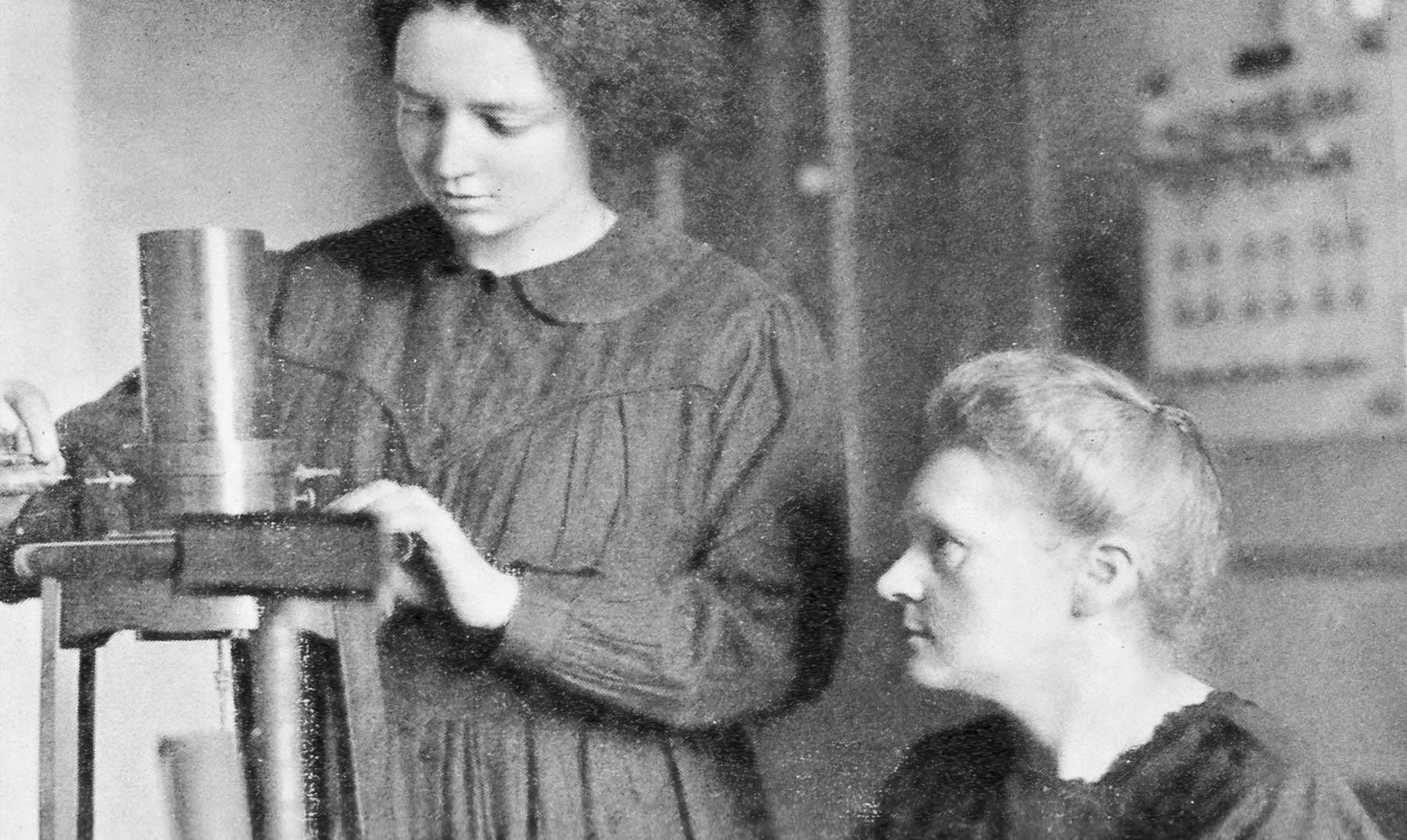 2 mujeres radiactivas en los Premios Nobel